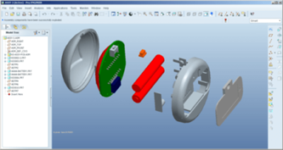 Product design of gadgets in 3D