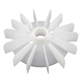 Plastic injection molding of fan blades in PP