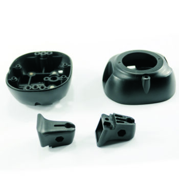Injection molding of plastic housing in ABS
