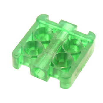 Injection molding of transparent plastic