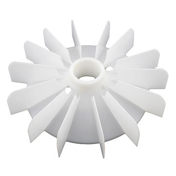 Injection molding of a Fan for AC motor plastic spare parts