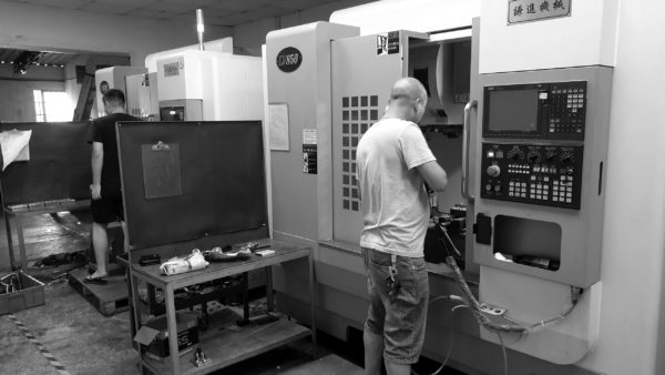 CNC milling of protoypes and series