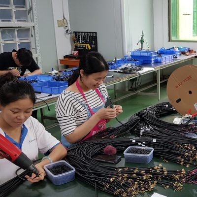 Manufacturing of electrical cables