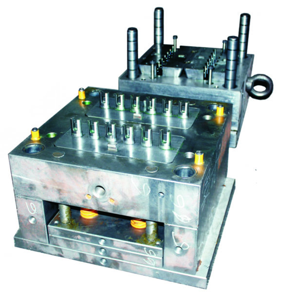 Plastic injection mold with 12 cavities. Mold maker China