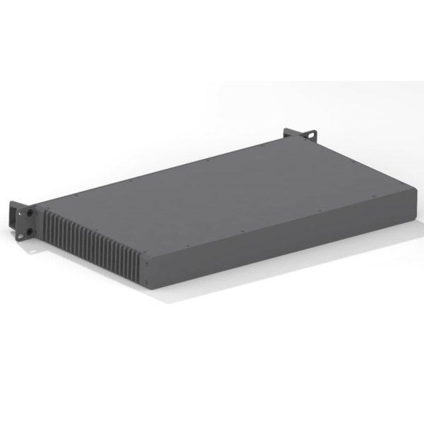 Fully customized 19 inch rac unit made of aluminum