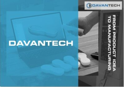 Presentation Davantech product engineering and custom manufacturing