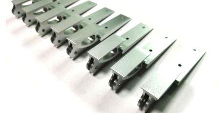 Aluminum CNC milling prototype