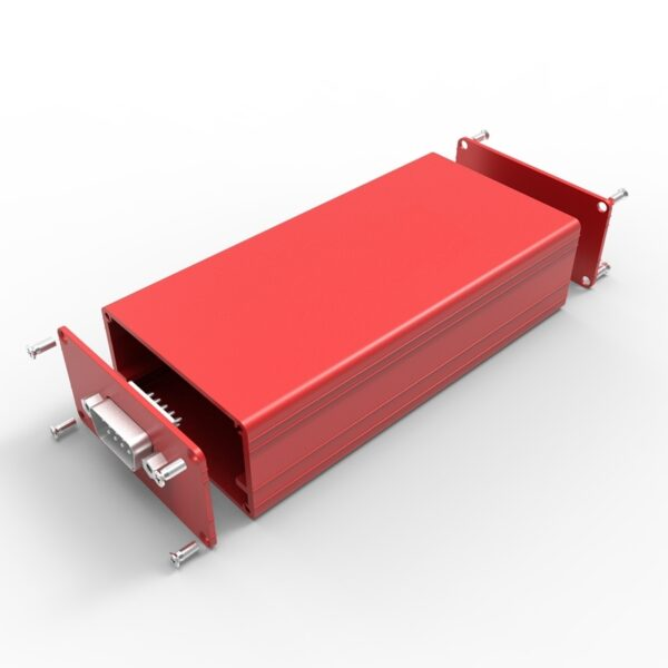 Red color anodizing