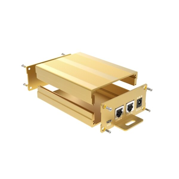 Gold color anodizing