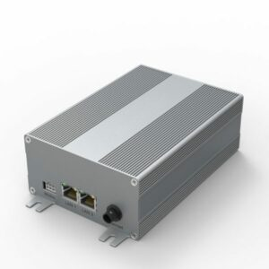 D1001446 electronic housing set made of extruded aluminum