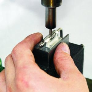 Canopy lock assembling