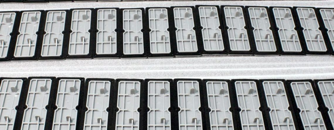 UV resistant electronic enclosure made of ASA plastic