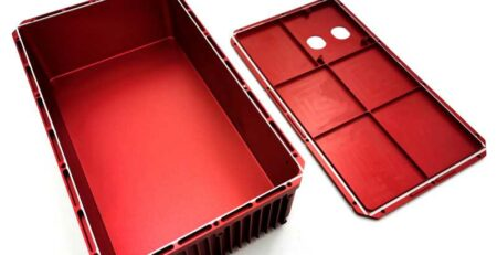 electronic enclosures machining by CNC