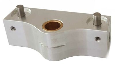 CNC machining of aluminum parts
