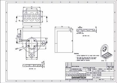 product design of aluminum mounting brackets
