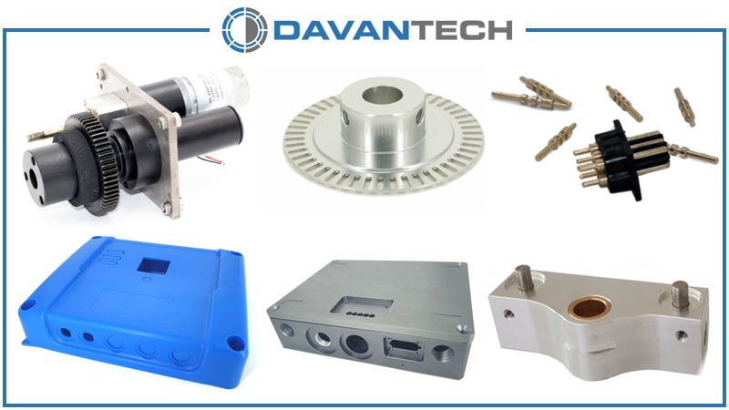 We offer a variety of manufacturing services like CNC machining and plastic injection molding